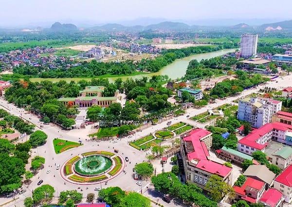 Bức tranh đô thị TP. Thái Nguyên